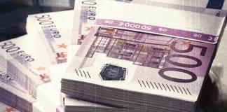 500 euro konec