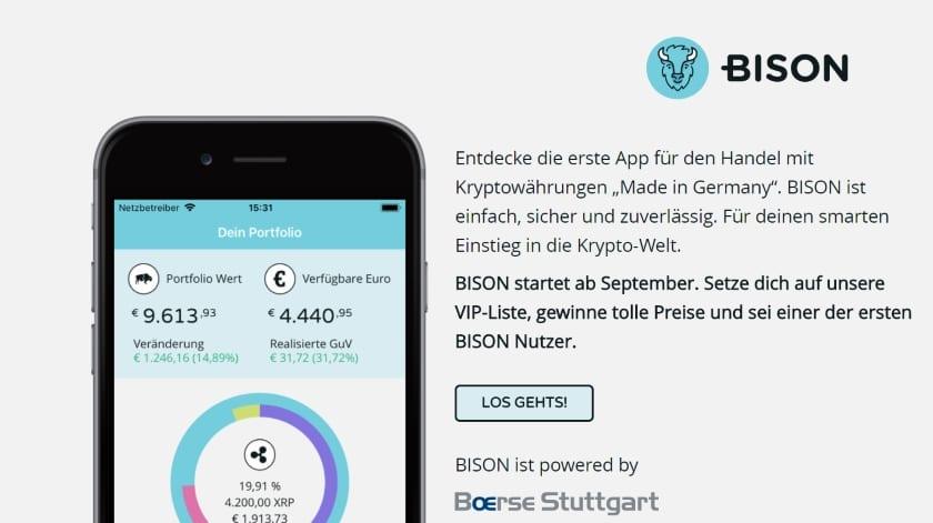 Bison-trading-app