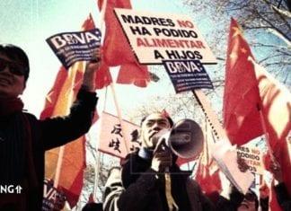spanielsko bbva protest