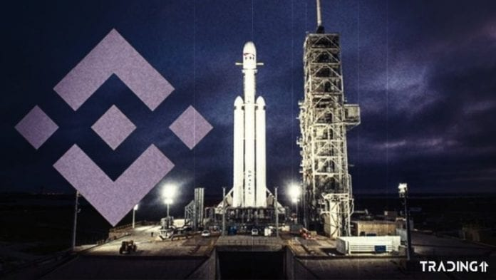 falcon heavy binance launchpad