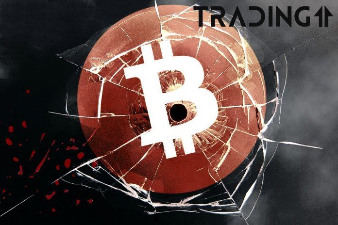 BTC, Bitcoin, down, bad, cena, propad, update trading11