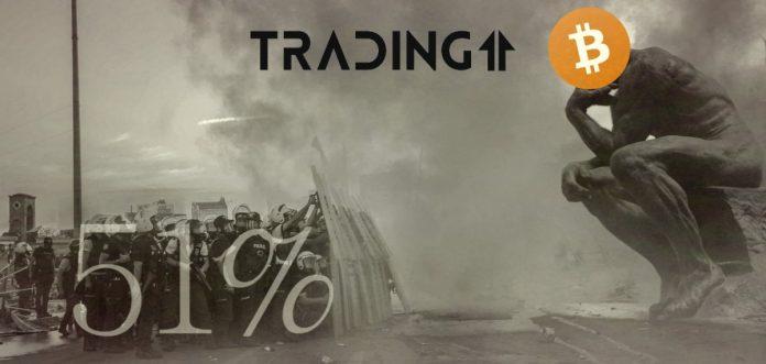 BTC, 51, Bitcoin, útok, problem, 51% útok