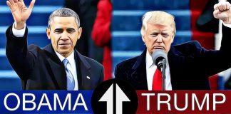trump vs. obama akciove indexy kriza