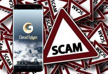 scam , podvod, cloud, token, cloud 2.0