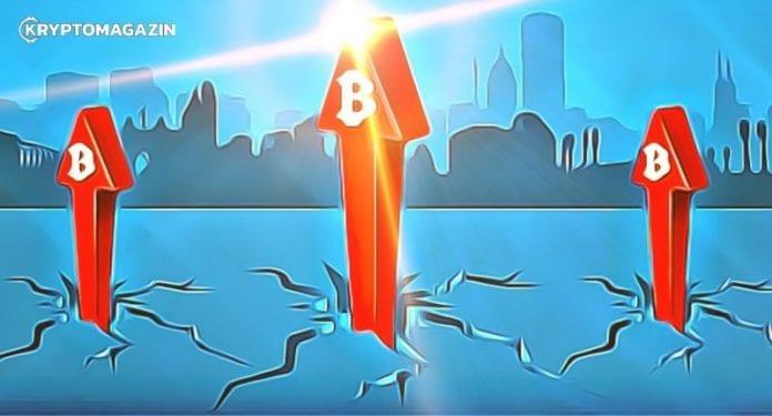 bitcoin prekonava rezistenciu
