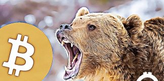 bear medved bitcoin propad