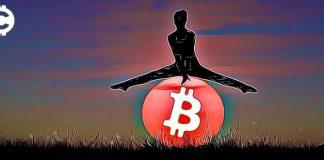 bitcoin pád propad skok kryptoměny
