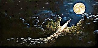 bitcoin to the moon raketa halving