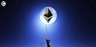 ETH Ethereum Moon měsíc kryptoměny úplněk blockchain