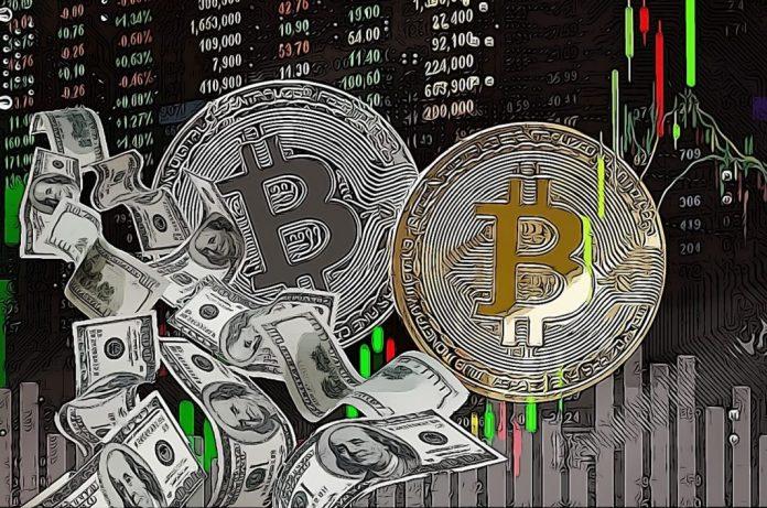 bitcoin btc mince kryptoměny virtuální měny