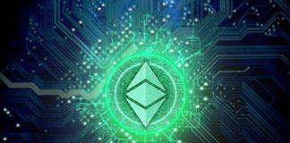 eth ethereum zelená