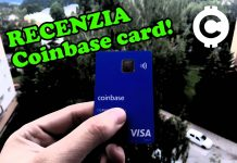 Recenze! Coinbase VISA karta je tu!