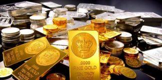zlato stříbro komodity mince vzácné kovy