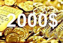 Zlato překonává 2000 $ hranici! Vyplatí se ho ještě nakupovat?
