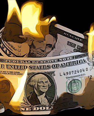 Dolar v roce 2021 zkolabuje, tvrdí ekonom z Yale. A není sám!