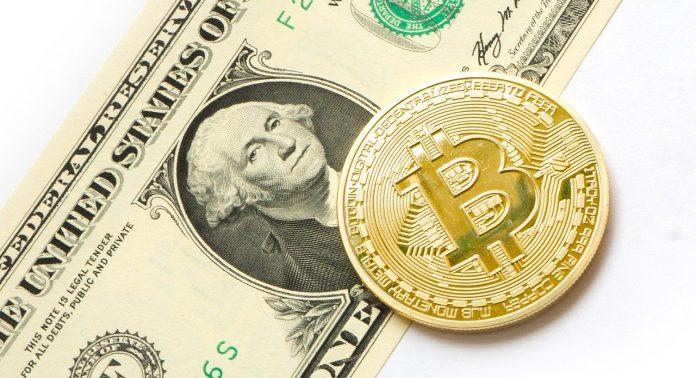 bitcoin btc kryptoměny virtuální měny dolar gapu