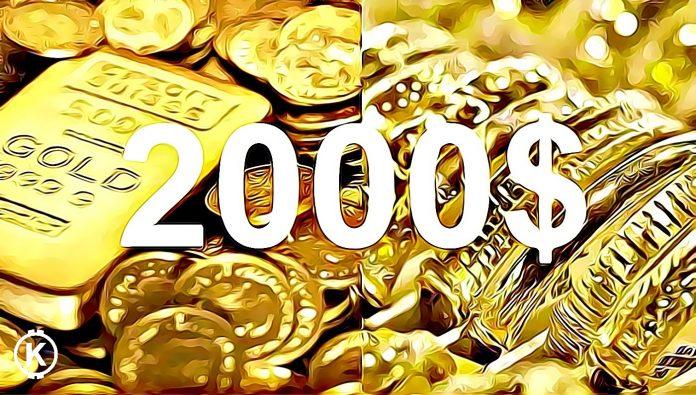 Zlato je připraveno na růst! Vyplatí se jej nakupovat za 2000 $?