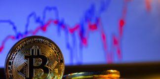 BTC bitcoin kryptoměny mince graf coin Bitcoinu