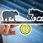 bitcoin BTC bear bull medvěd býk kryptoměny