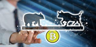 BTC bitcoin kryptoměny bear bull medvěd býk